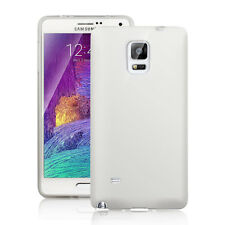 Ultra Thin Matte Back Protective White Case Cover Skin For Samsung Galaxy Note 4