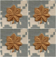 "Lot of 20 US Army ACU Camo 2"" x 2"" Hook-Backed Major Rank TAB Patches"