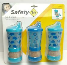 Safety 1st - Sip N Snack Sippie Cup & Snack Container BPA Free No Spill *E