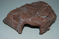 VIVARIUM large marron rock Abri de den 23X18X5 cm adapté aux petits reptiles