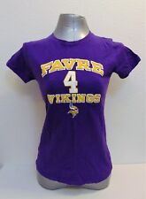 Favre 4 Vikings Kids T-Shirt Size M NFL Team Apparel Players Womens