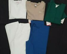 Lot of 5 Cherokee Uniform Scrub Tops And Pants Size Small Nwt