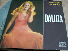 Dalida Rare Romanian LP 1971-Paroles,Paroles