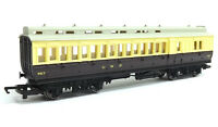 Hornby GWR Brown Cream Clerestory Brake Coach '967 'OO Gauge