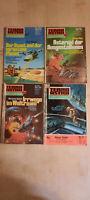 4 x Terra Astra Sammlung Science Fiction Pabel sehr guter Zustand R13