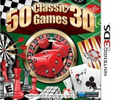50 Classic Games 3D (2012) Brand New Factory Sealed USA Nintendo 3DS Game