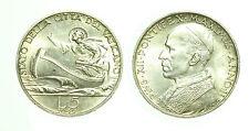 pcc1589_20) Città del Vaticano Pio XII (1939-1958)  - 5 lire 1940 AG