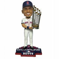 "Boston Red Sox MOOKIE BETTS World Series Champions 8"" Bobblehead Bobble Head NEW"