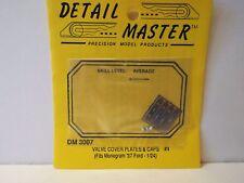 DETAIL MASTER DM-3007 1:24 SCALE FORD VALVE COVER PLATES & CAPS MOC (KS165)