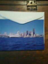 Lot Of 2 Vintage Christmas Cards Washington State Ferries Seattle Washington