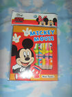 Brand New Non toxic 12 Assorted Mickey Mouse Colour Pencil *Free Post