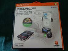 Griffin RoadTrip Bluetooth HandsFree Calling & FM Transmitter w/ built in MIC