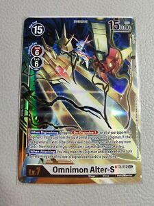 Omnimon Alter-S BT3-112 | NM/M | BT3-112 SEC | Digimon Card Game