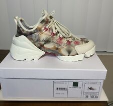 NIB DIOR D Connect Kaleidoscope Lace Up Low Top  Sneaker 39