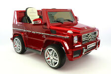 Mercedes G65 AMG 12V Ride On Truck/Car RC Power Wheels - Red
