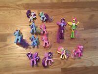 EUC Lot Of 13 My Little Pony Toys