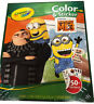 Crayola Despicable Me3 Color & Sticker Activity Book 50+ Stickers 32 Pages NEW