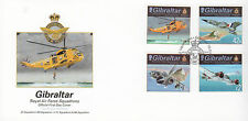 Gibraltar 2012 FDC RAF Squadrons I 4v Set Cover Royal Air Force Panavia Tornado
