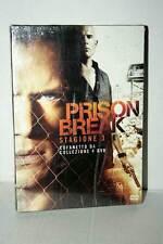 PRISON BREAK STAGIONE 3 COFANETTO DA 4 DVD NUOVO SIGILLATO VER ITA GD1 41400