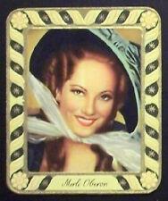 Merle Oberon 1934 Garbaty Film Star Series 2 Embossed Cigarette Card #248
