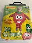 Veggie Tales Bob The Tomato Halloween Costume 2-4 years NWT Boys Girls
