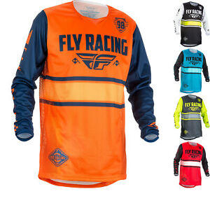 Fly Racing Kinetic Era Youth Motocross Jersey Junior Dirt Bike ATV Vented
