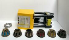 PARKER HANNIFIN CORP 60 TON HYDRAULIC HOSE CRIMPER/CRIMPING TOOL W/6 DIE SET #2