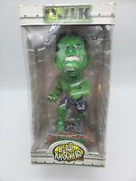 "Marvel Comics The Incredible Hulk Bobblehead Doll 2003 NECA Head Knockers 7 3/4"""