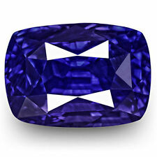 Cushion None (No Enhancement) Loose Natural Sapphires