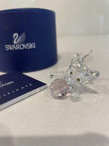 Swarovski Crystal Kitten With Pink Crystal Ball 631856