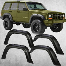For 84-01 Jeep Cherokee XJ 4-Door Pocket Rivet Off-road Wheel Wide Fender Flares