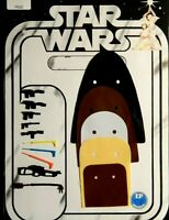 Vintage Star Wars Custom Replacement Weapons & Capes for first 12 Leia Ben Darth