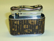 IBELO MONOPOL AUTOMATIC POCKET LIGHTER WITH LEATHER COAT - 1952 - GERMANY