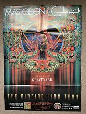 Mastodon Clutch with special guest Graveyard The Missing Link Tour
