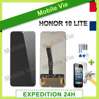 VITRE TACTILE + ECRAN LCD POUR HUAWEI HONOR 10 LITE NOIR + OUTILS / FILM / COLLE