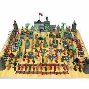 100-307Pcs Soldier Kit Action Figures Military Army Men Sand Scene Model Boy Toy