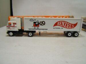 Winross Benzel's Pretzels Altoona PA Tractor Trailer 1/64 Diecast 1991 Mack