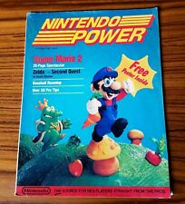 Nintendo Power Magazine Complete Poster Inserts Super Mario 2 July August 1988
