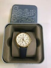Fossil Leather Watch for Women Navy blue strap Watch