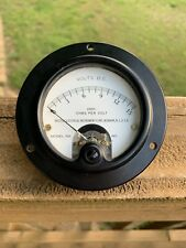 Weston Electrical Instrument Corp Model 301 Volts US Navy Gauge