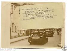 1935. photo de presse . l'Allemagne a pris la Sarre . les troupes d'assaut