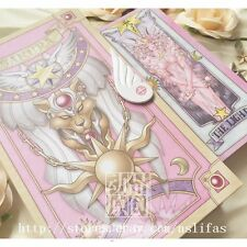 Cardcaptor Sakura Pink Clow Card Book Set 56 Piece Card THE HOPE MIRACLE Cosplay