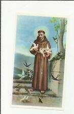 95561 SANTINO HOLY CARD Heiligenbildchen SAN FRANCESCO D ASSISI