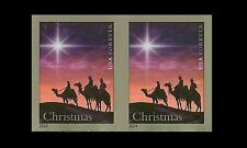 US 4945b Christmas Magi imperf NDC horz pair MNH 2014