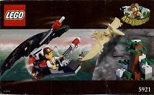 Lego Adventurers # 5921 Research Glider - Bauanleitung (keine Steine!)