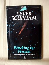 WATCHING THE PERSEIDS; Peter Scupham; Oxford Poets paperback; SIGNED COPY