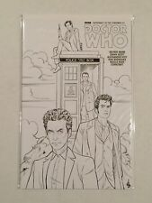 DOCTOR WHO SUPREMACY OF THE CYBERMEN #1 COLORING BOOK VARIANT COVER TITAN NM 1ST