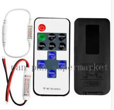 DC 12-24V Mini LED Controlador Dimmer para Tira de LED 5050 3528 control remoto inalámbrico RF