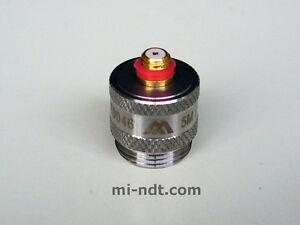 2.25 MHz / 10mm Quick Change Ultrasonic Transducer for Krautkramer Wedge 10mm