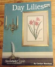Serendipity Designs IRISES and DAY LILIES Set of 2 Cross Stitch Patterns